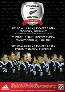 Black ferns poster