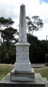 Redoubt memorial