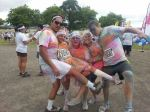 The result of the Colour Run!