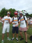 Colour run French boys