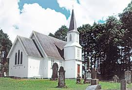 St Brides church Mauku modern