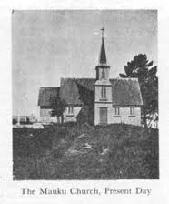 St Brides original church Mauku