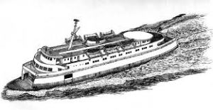 ferry drawing
