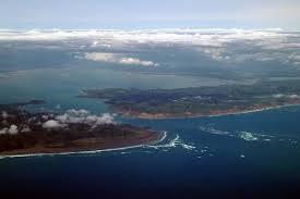 Manukau Harbour aerial view