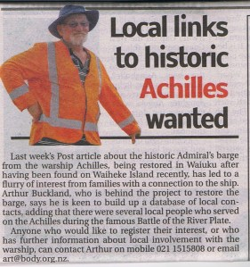 Archilles links wanted