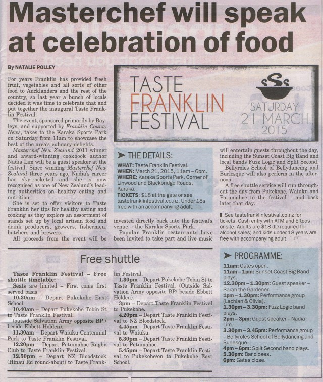 Franklin Taste Festival March 21, 2015
