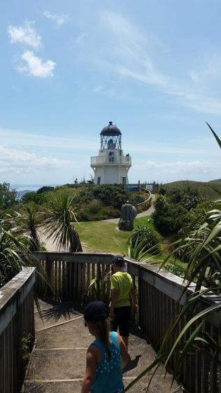 Manukau Heads lighthouse iconic pic Jan 2015