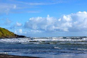Port Waikato beach
