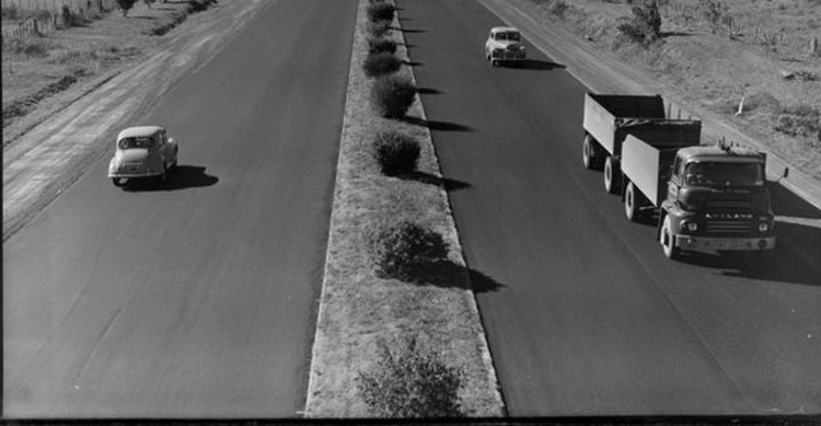 Old southern motorway pic