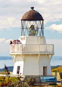 Manukau Heads -Awhitu lighthouse