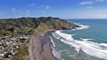 Port Waikato by Sky View Photography