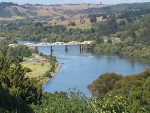 Tuakau river bridge view 2015